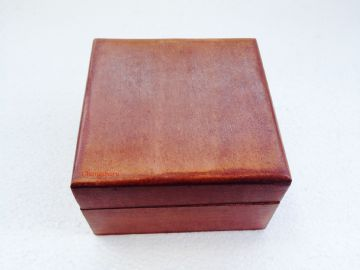 "4x4"" PLAIN SQUARE MDF Wood Storage Box"